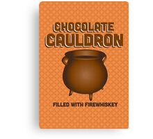 Chocolate Cauldron - Harry Potter Canvas Print