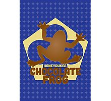 Chocolate Frog - Harry Potter Photographic Print