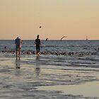 Dusk at the Beach by Rosalie Scanlon