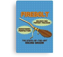 Firebolt - Harry Potter Canvas Print