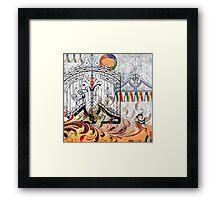 """""""Heaven's Gate"""" Framed Print"""