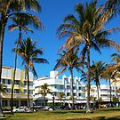 Art Deco architecture in Miami South Beach, Florida by Atanas Bozhikov NASKO