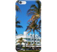 Art Deco architecture in Miami South Beach, Florida iPhone Case/Skin