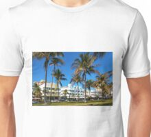 Art Deco architecture in Miami South Beach, Florida Unisex T-Shirt