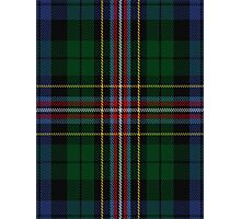00503 Allison (MacBean & Bishop) Tartan  Photographic Print