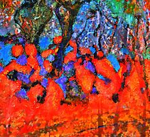 The Fauve Tree ( Homage to Vlaminck) by Richard  Tuvey