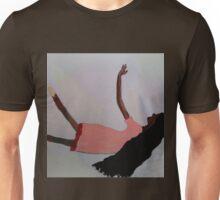 Girl in the Pink Dress/ Fallen  Angel Unisex T-Shirt