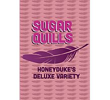 Sugar Quills - Harry Potter Photographic Print