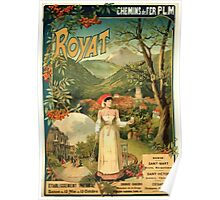 Gustave Fraipont Affiche PLM Royat Poster