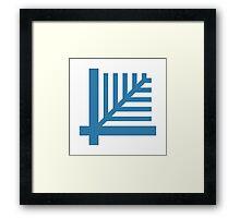 LiveScript Logo Framed Print