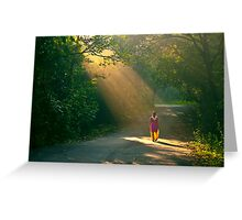 spot light of the forest!! Greeting Card