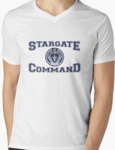 Stargate Command Athletics Mens V-Neck T-Shirt