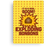 Exploding Bonbons - Harry Potter Canvas Print