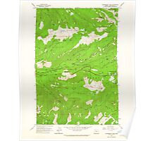 USGS Topo Map Oregon Government Camp 280056 1962 24000 Poster
