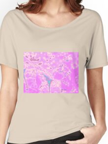 Pink Pop Abstract Women's Relaxed Fit T-Shirt