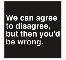 Agree to Disagree by trendystickers