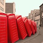 Fallen phone boxes  by Marco Dall'Omo
