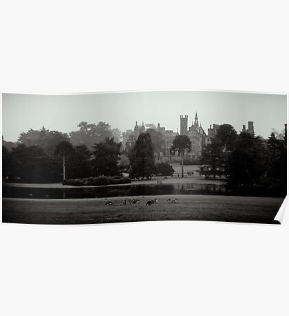 The Castle of Alton Towers. Poster