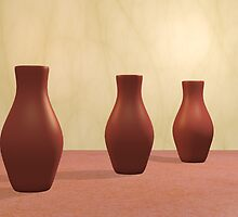 Three Vases by gabiw