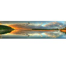 Day Dream Believer (35 Exposure HDR Panorama) - Narrabeen Lakes Entrance, Sydney - The HDR Experience Photographic Print