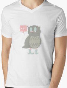Ye Owl Mens V-Neck T-Shirt