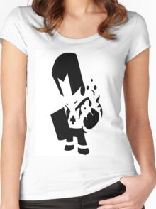 castle crashers shadow knight Women's Fitted Scoop T-Shirt