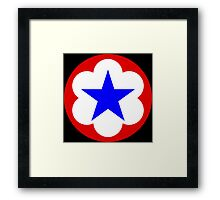 United States Army Trial Defense Service/Army Service Forces (Historical) Framed Print