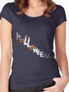 Halloween Buddies Women's Fitted Scoop T-Shirt