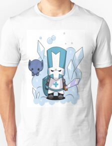 castle crashers blue knight T-Shirt