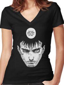 Berserk - Guts Women's Fitted V-Neck T-Shirt