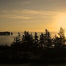 Sunrise over  Perce  by terrebo