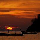 Ko Pu Sunset, Phuket Thailand by Chris Prior
