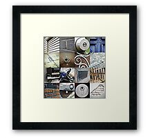 beyond the count series: 3 of 5 Framed Print