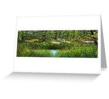 Blooming Riverside  Greeting Card