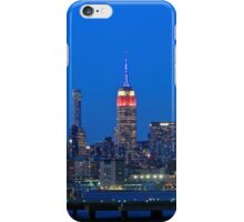 Empire State Building Lights On 9/11/15 iPhone Case/Skin