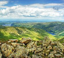 Haweswater and Rough Crag by Jamie  Green