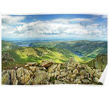 Haweswater and Rough Crag Poster