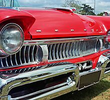 restored red ford mercury by sharpbokeh