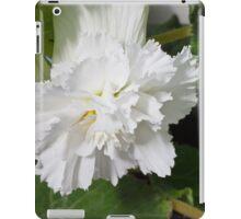 Fringed Begonia Blossom iPad Case/Skin