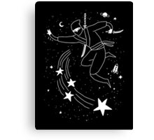 Space Ninja Canvas Print