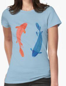 Koi Carp Womens Fitted T-Shirt