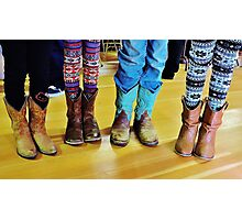 Want to be a Cowgirl Photographic Print