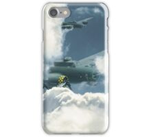 B17 in the clouds iPhone Case/Skin