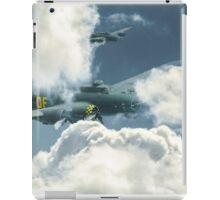 B17 in the clouds iPad Case/Skin