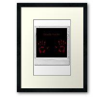bloody murder Framed Print