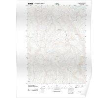 USGS Topo Map Oregon Rio Canyon 20110901 TM Poster