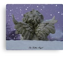 The fallen angel. Canvas Print