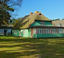 MVP41 Old house at Prerow, Germany. by David A. L. Davies