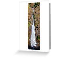 Ghermu Phant Waterfall Greeting Card