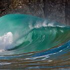 Panoramic Wave by Turtle  Photography
